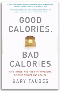 Image of the cover of the book, by Gary Taubes