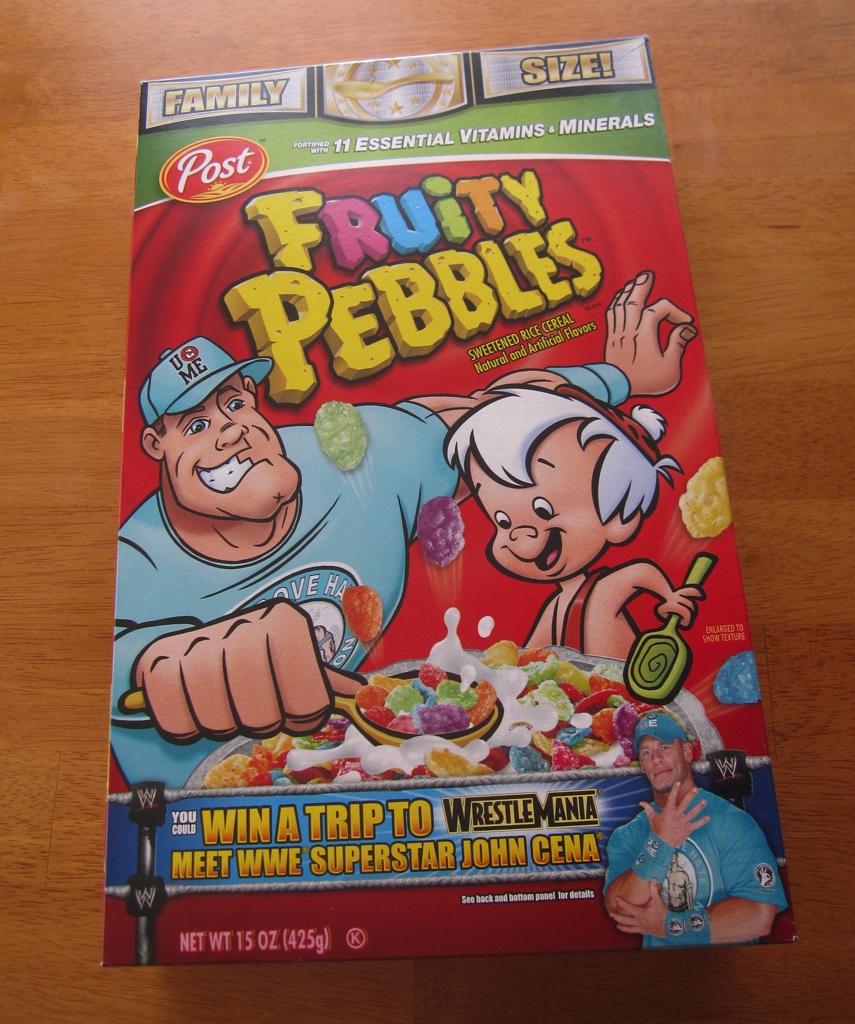 Family Size Box Of Fruity Pebbles