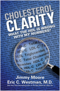 Photo of the cover of the book, Cholesterol Clarity